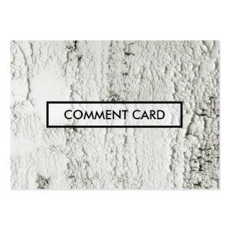 microprocesadores pintados tarjeta del comentario tarjetas de visita grandes