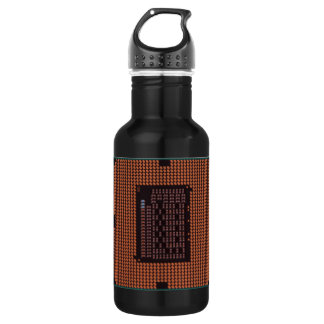 microprocessor 18oz water bottle