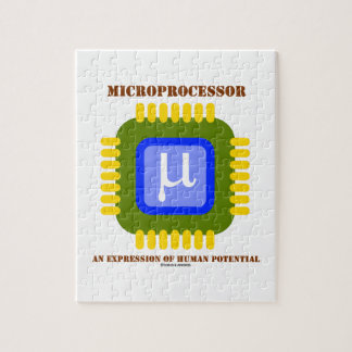 Microprocessor An Expression Of Human Potential Jigsaw Puzzle