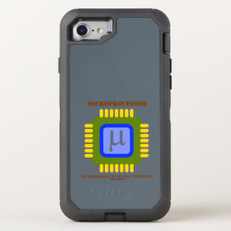 Microprocessor An Expression Of Human Potential OtterBox Defender iPhone 7 Case