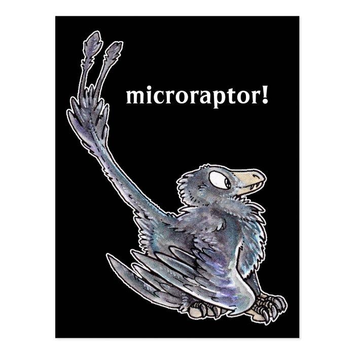 Microraptor Postcard