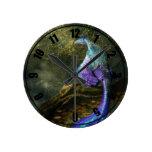 Microraptor Reloj Redondo Mediano