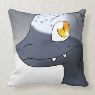 Microraptor Throw Pillow