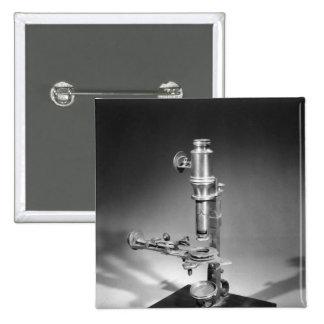 Microscope 2 Inch Square Button