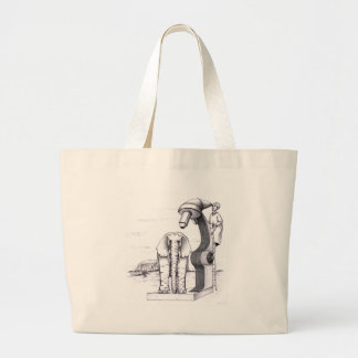 Microscope and an Elephant Tote Bags