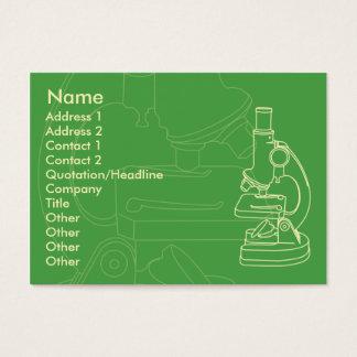 Microscope - Chubby Business Card