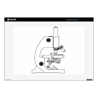 "Microscope Decals For 15"" Laptops"
