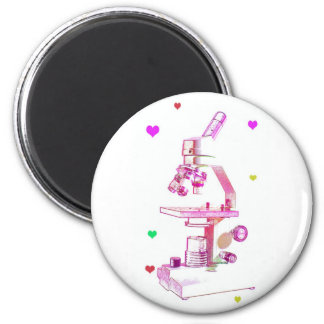 Microscope for Girls 2 Inch Round Magnet