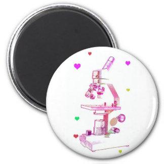 Microscope for Girls Magnet