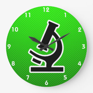 Microscope; Green Clocks