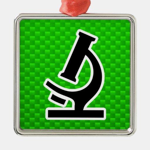 Microscope; Green Ornament