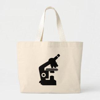 Microscope Large Tote Bag