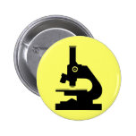 Microscope Pinback Buttons