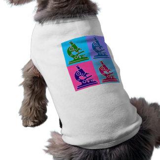 Microscope Pop Art Doggie Tshirt