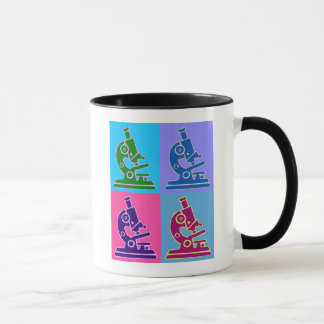Microscope Pop Art Mug