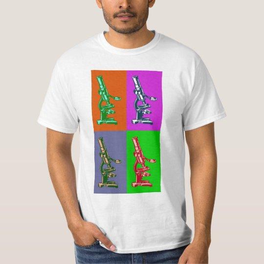 Microscope Pop Art T-Shirt