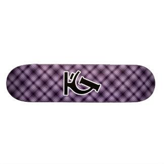 Microscope; Purple Skateboard Decks