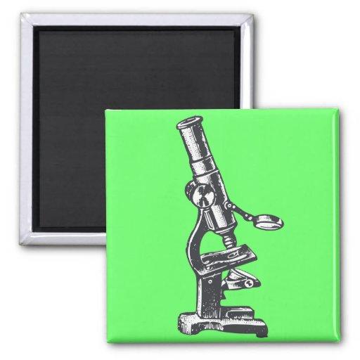 Microscope Refrigerator Magnets