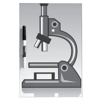 Microscope vector Dry-Erase board