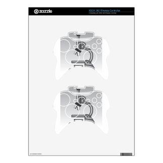 Microscope vector xbox 360 controller skins