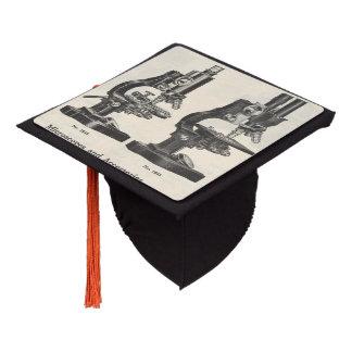 Microscopes Graduation Cap Topper
