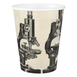 Microscopes Paper Cup