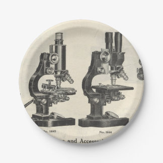 Microscopes Paper Plate