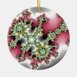 Microscopic Event Ceramic Ornament