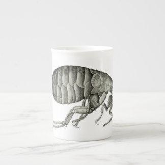 Microscopic flea tea cup
