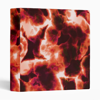 Microscopic Red Cells 3 Ring Binder
