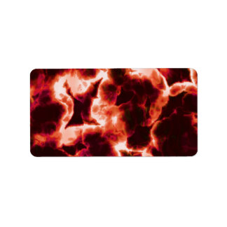 Microscopic Red Cells Label