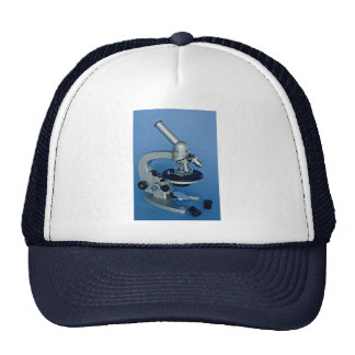 Microscopio Gorros Bordados