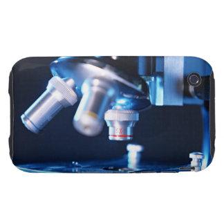 Microscopio óptico 3 funda resistente para iPhone 3
