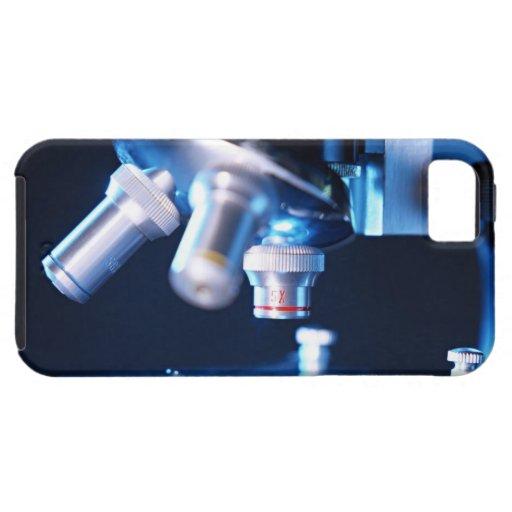 Microscopio óptico 3 iPhone 5 Case-Mate funda
