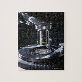 Microscopio óptico puzzle