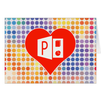 Microsoft Office Gift Greeting Card