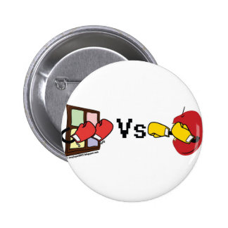 Microsoft Windows contra Apple Mac que encajona lu Pin