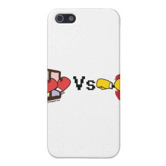 Microsoft Windows Vs Apple Mac boxing fight iPhone SE/5/5s Case