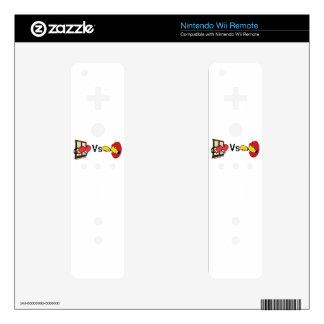 Microsoft Windows Vs Apple Mac boxing fight Decals For The Wii Remote