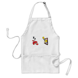 Microsoft Wins Against Apple in Boxing Match Adult Apron