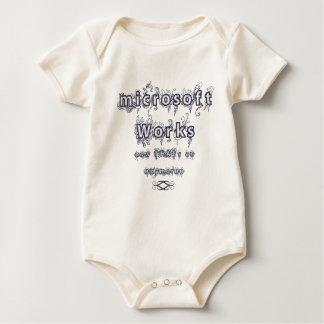 microsoft works: Oxymoron Baby Bodysuit