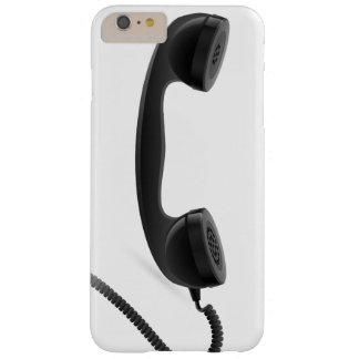 Microteléfono de teléfono retro divertido funda para iPhone 6 plus barely there