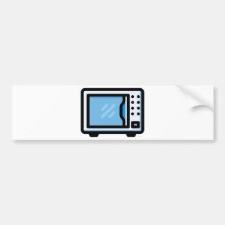 Microwave Bumper Sticker