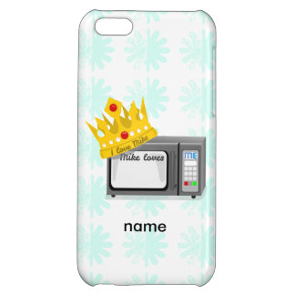 Microwave is King of the Kitchen Crown Case For iPhone 5C