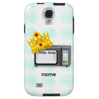 Microwave is King of the Kitchen Crown Galaxy S4 Case
