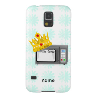 Microwave is King of the Kitchen Crown Galaxy S5 Case