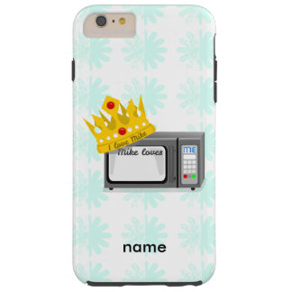 Microwave is King of the Kitchen Crown Tough iPhone 6 Plus Case