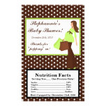 Microwave Popcorn Wrapper Green Mod Mom Polka Dots Flyer Design