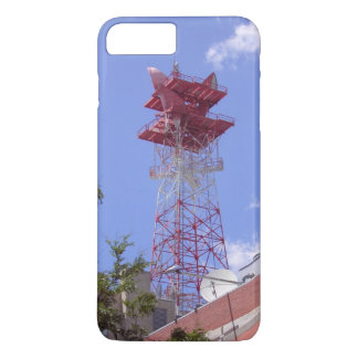 Microwave Relay Radio Telecom Tower iPhone 7 Case