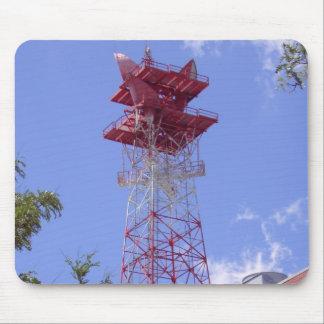 Microwave Relay Radio Telecom Tower Mouse Pad